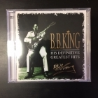 B.B. King - His Definitive Greatest Hits 2CD (M-/M-) -blues-