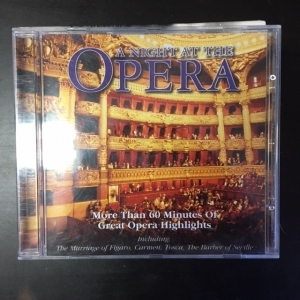 Night At The Opera CD (VG+/M-) -klassinen-