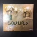 Soulfly - Omen (deluxe edition) CD+DVD (VG-M-/VG+) -groove metal-