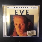 Eve - 20 suosikkia CD (VG+/VG+) -pop rock-