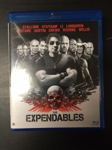 Expendables Blu-ray (M-/M-) -toiminta-