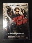 Shoot 'Em Up DVD (VG+/M-) -toiminta-