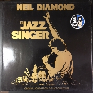 Neil Diamond - The Jazz Singer (Original Songs From The Motion Picture) LP (M-/VG) -soft rock--