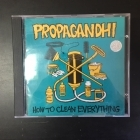 Propagandhi - How To Clean Everything CD (VG+/VG+) -punk rock-