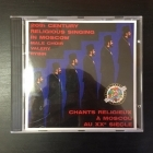 Male Choir Valery Rybin - 20th Century Religious Singing In Moscow CD (VG+/M-) -klassinen-