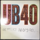 UB40 - Geffery Morgan... LP (VG-VG+/VG+) -reggae-