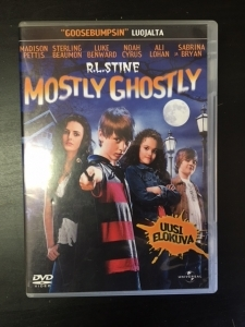 Mostly Ghostly DVD (VG/M-) -fantasia-