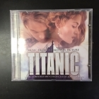 Titanic - Music From The Motion Picture CD (G/VG+) -soundtrack-