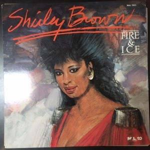 Shirley Brown - Fire & Ice LP (VG+-M-/M-) -soul-