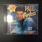Paul Anka - He Made It Happen (20 Greatest Hits) CD (VG+/VG+) -pop rock-