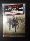 Jackass Number Two - The Movie DVD (VG/M-) -komedia-
