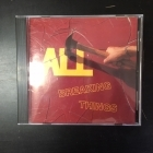 All - Breaking Things CD (VG+/G) -punk rock-