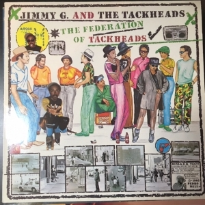 Jimmy G. & The Tackheads - The Federation Of Tackheads LP (VG+/VG+) -funk-
