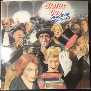 Status Quo - Whatever You Want LP (VG/VG) -hard rock-