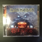 Iron Maiden - Rock In Rio 2CD (VG+-M-/M-) -heavy metal-