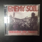 Enemy Soil - Smashes The State! (R.I.P. 1991-1998) 2CD (VG+/M-) -grindcore-