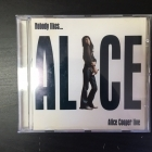 Alice Cooper - Nobody Likes... Alice Cooper Live CD (VG/VG+) -hard rock-