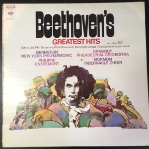 Beethoven - Beethovens Greatest Hits LP (VG+/VG+) -klassinen-