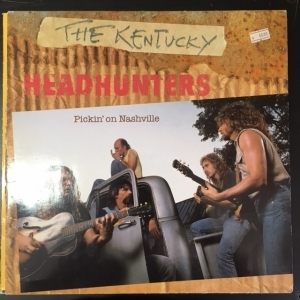 Kentucky Headhunters - Pickin On Nashville LP (G-VG/VG) -country-