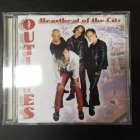 Outloves - Heartbeat Of The City CD (VG/M-) -punk rock-
