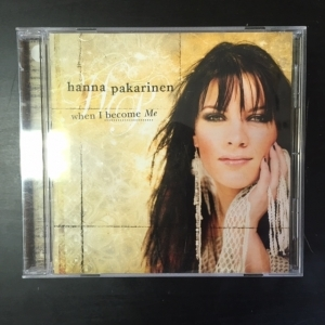 Hanna Pakarinen - When I Become Me CD (VG/M-) -pop-