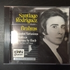 Santiago Rodriguez - Plays Brahms CD (VG+/M-)  -klassinen-