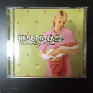 Regurgitate - Sickening Bliss CD (VG/M-) -goregrind-