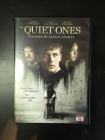 Quiet Ones DVD (VG/M-) -kauhu-