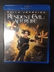 Resident Evil - Afterlife Blu-ray (M-/M-) -toiminta/sci-fi-