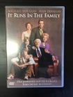 It Runs In The Family DVD (VG+/M-) -komedia/draama-