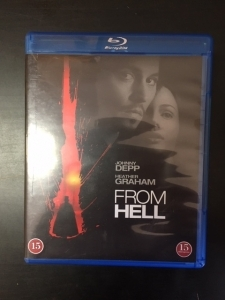 From Hell Blu-ray (M-/VG) -kauhu-