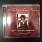 Ashley MacIsaac - Fine Thank You Very Much (A Traditional Album) CD (VG/M-) -celtic folk-