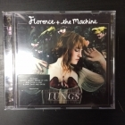 Florence + The Machine - Lungs CD (VG/VG+) -indie rock-