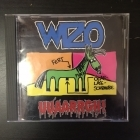 Wizo - Uuaarrgh! CD (VG/VG) -punk rock-
