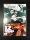 12 Rounds (extreme cut) DVD (VG+/VG) -toiminta- (ex-vuokravideo)