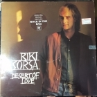 Riki Sorsa - Desert Of Love LP (VG/VG) -pop rock-