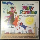 Walt Disney's Mary Poppins - The Story And Songs LP (VG-VG+/VG+) -soundtrack-