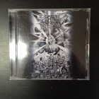 Frostbitten Kingdom - Obscure Visions Of Chaotic Annihilation CD (VG+/M-) -black metal/death metal-