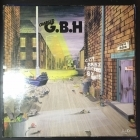Charged G.B.H. - City Baby Attacked By Rats (UK/CLAYLP4/1982) LP (VG/VG) -punk rock-