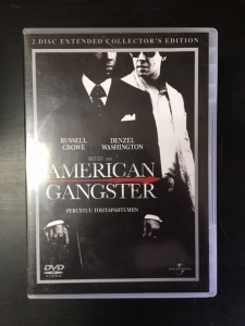 American Gangster (collectors edition) 2DVD (VG/M-) -draama-
