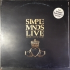 Simple Minds - Live In The City Of Light 2LP (VG+/VG) -synthpop-