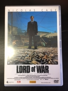 Lord Of War DVD (VG+/M-) -toiminta-