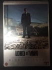 Lord Of War (collector's edition steelbook) 2DVD (VG+/M-) -toiminta-