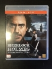 Sherlock Holmes - A Game Of Shadows Blu-ray (VG+/M-) -toiminta-