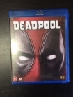 Deadpool Blu-ray (VG+/M-) -toiminta-