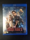 Iron Man 3 Blu-ray (VG+/M-) -toiminta-