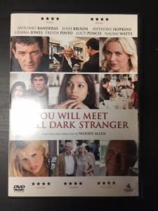 You Will Meet A Tall Dark Stranger DVD (VG+/M-) -komedia-