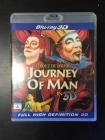 Cirque Du Soleil - Journey Of Man In 3D Blu-ray 3D (M-/M-) -musikaali-