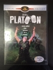 Platoon - Nuoret sotilaat (special edition) DVD (VG+/M-) -sota-