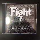 Fight - War Of Words CD (M-/M-) -groove metal-
